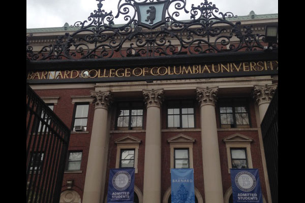 Barnard College, New York, New York